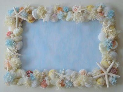 スターフィッシュ&貝殻 ウェルカムボード