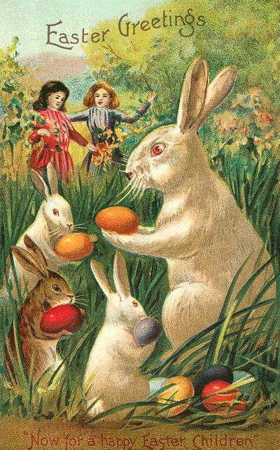 Old Easter Post Card — (400×642)