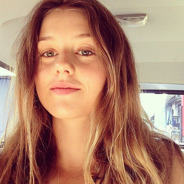 Celebrities without makeup: Isabelle Cornish