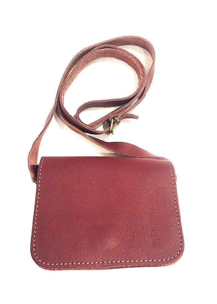 MINI SQUARE LEATHER BAG