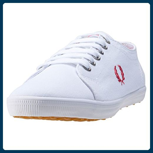 Fred Perry Kingston Twill White Rose 40 - Sneakers für frauen (*Partner-Link)