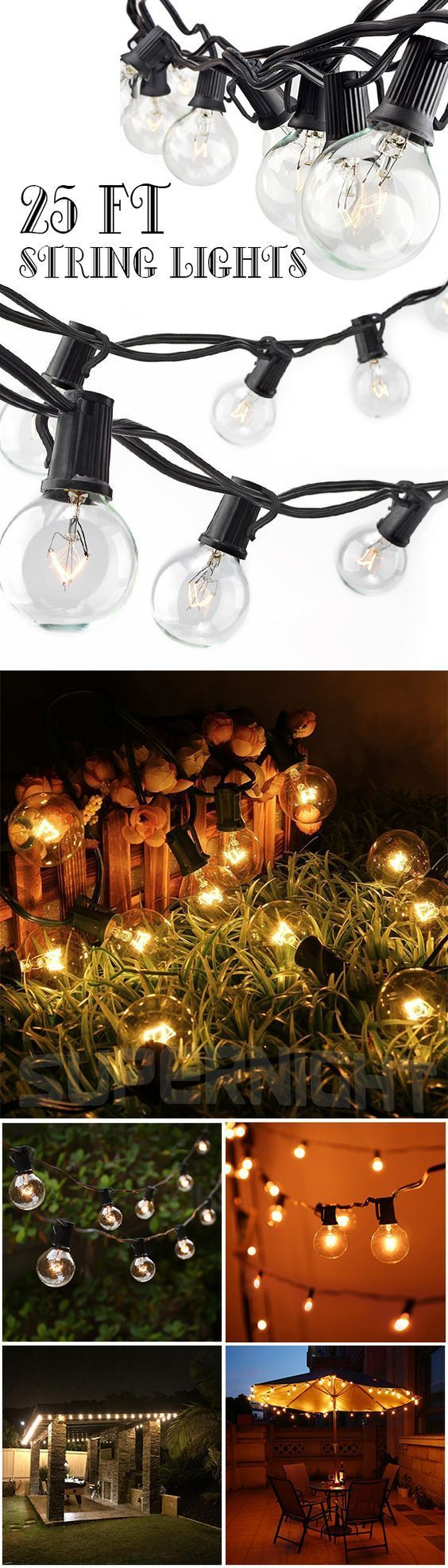 Love twinkling Christmas lights on your tree? Well, string lights can be way more than holiday decorations for you tree. Check out these awesome ways to use Christmas lights and make your home more festive than you ever thought possible. Perfect for DIY holiday decor, some of these cool ideas work~Click the Picture or VIsit button you will get one cool gadgets:)#string#light#lamp #christmaslightsbackyard
