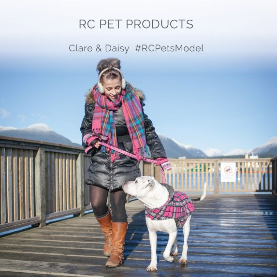 Meet Clare and Daisy in her Raspberry Tartan Whistler Winterwear coat:)