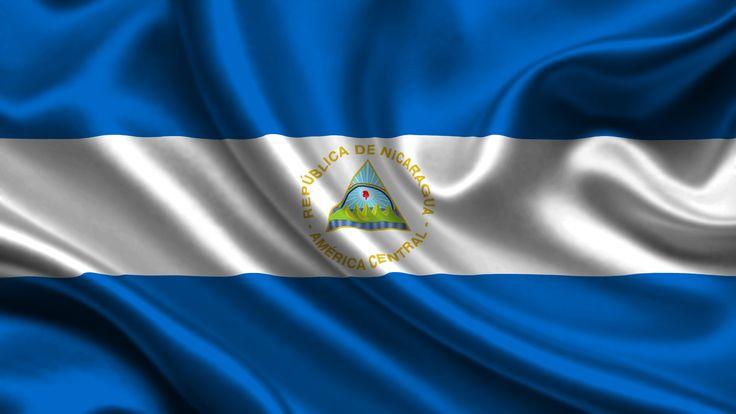 Nicaragua Flag Wallpaper