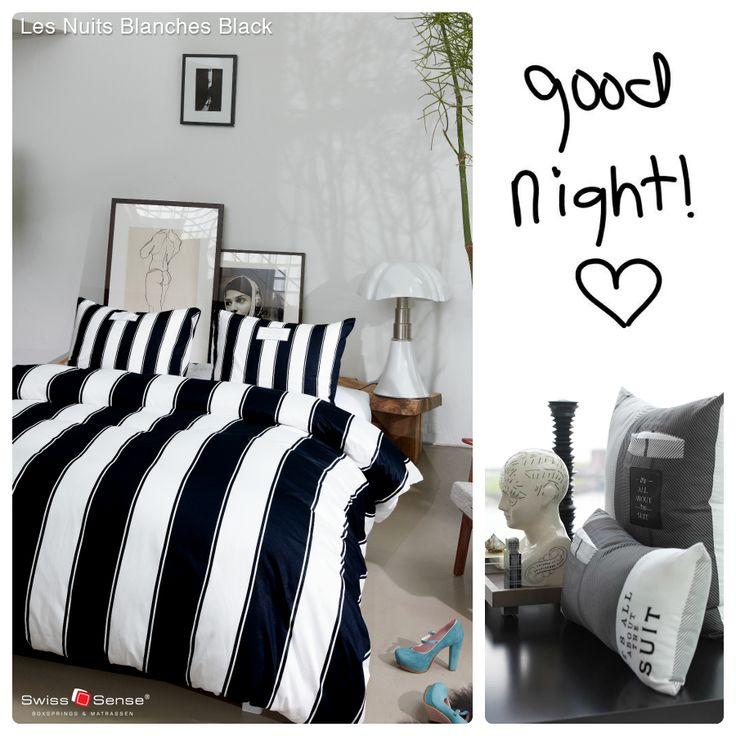 Is jouw slaapkamer modern en trendy? Dan hebben wij het perfecte dekbedovertrek voor je: Les Nuits Blanches   Wat denk je, past dit in jouw slaapkamer? #swisssense #bedroom @Beddinghouse