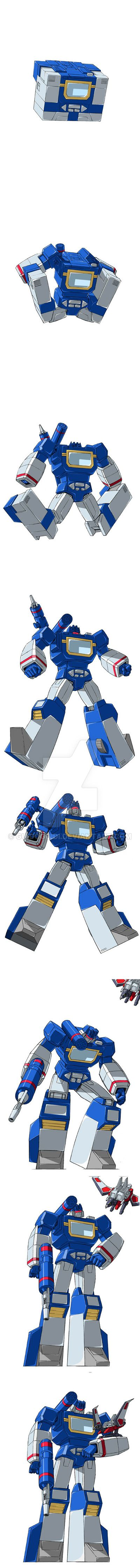 Soundwave - Transformation by GuidoGuidi on DeviantArt