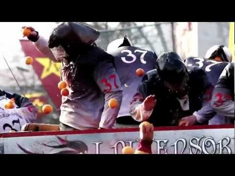 Battle of the Oranges 2012 - YouTube
