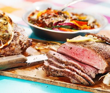 Lamm med provencalsk grönsaksgratäng