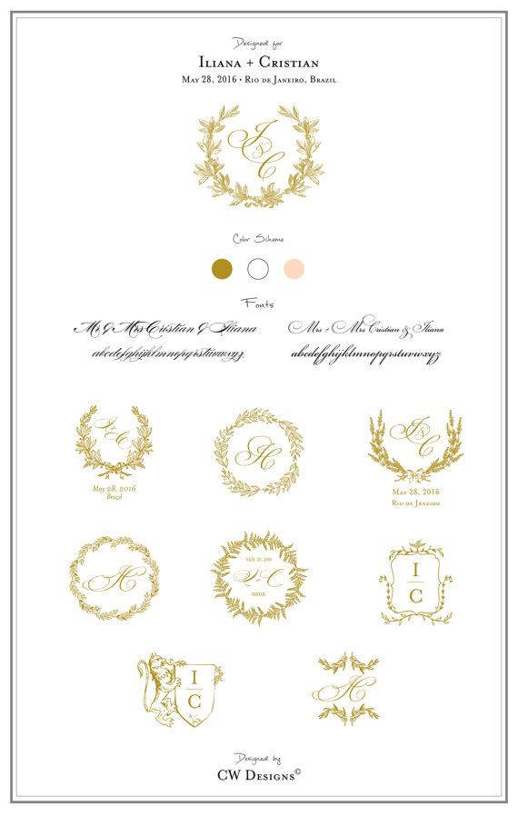 Best 25 Wedding Logos Ideas On Pinterest