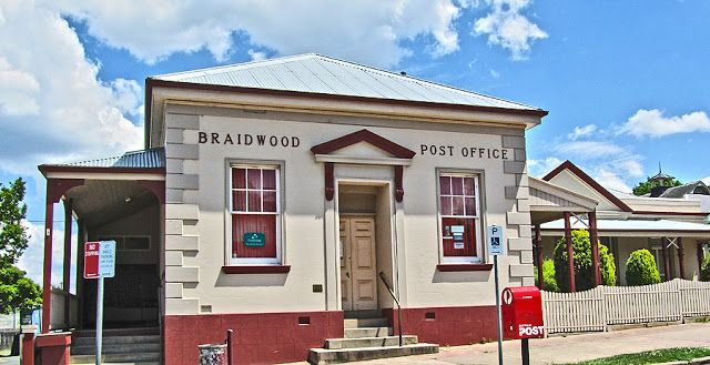 Daily Photo Canberra: Braidwood Post Office in NSW, Australia
