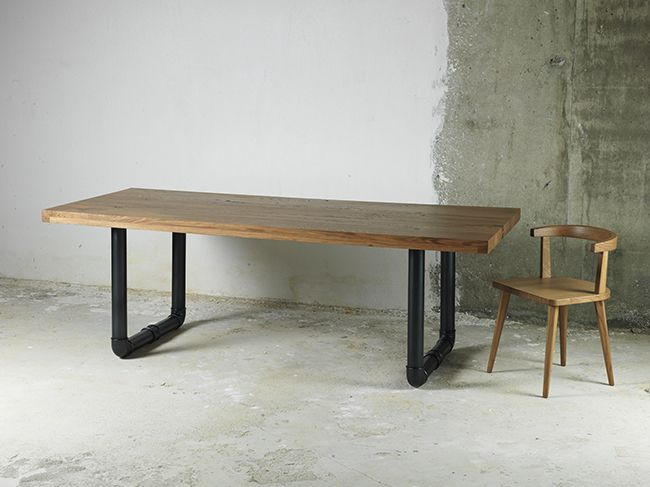 'PLUMBER' dining table