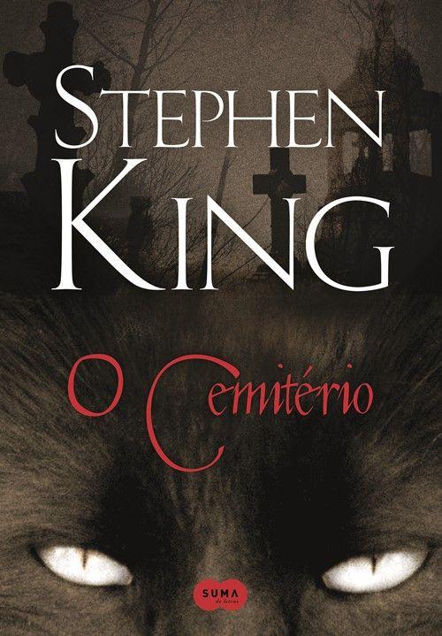 """O livro """"O Cemitério"""" de Stephen King é um dos livros mais horripilantes que eu já li. O livro é bem escrito, como é hábito de SK e a história de arrepiar!"""