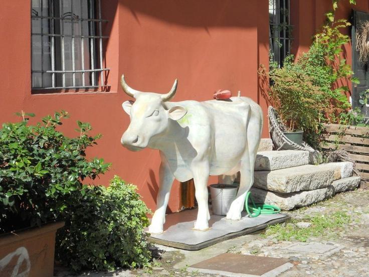 Cortile delle Botteghe degli artisti - Navigli, Milano