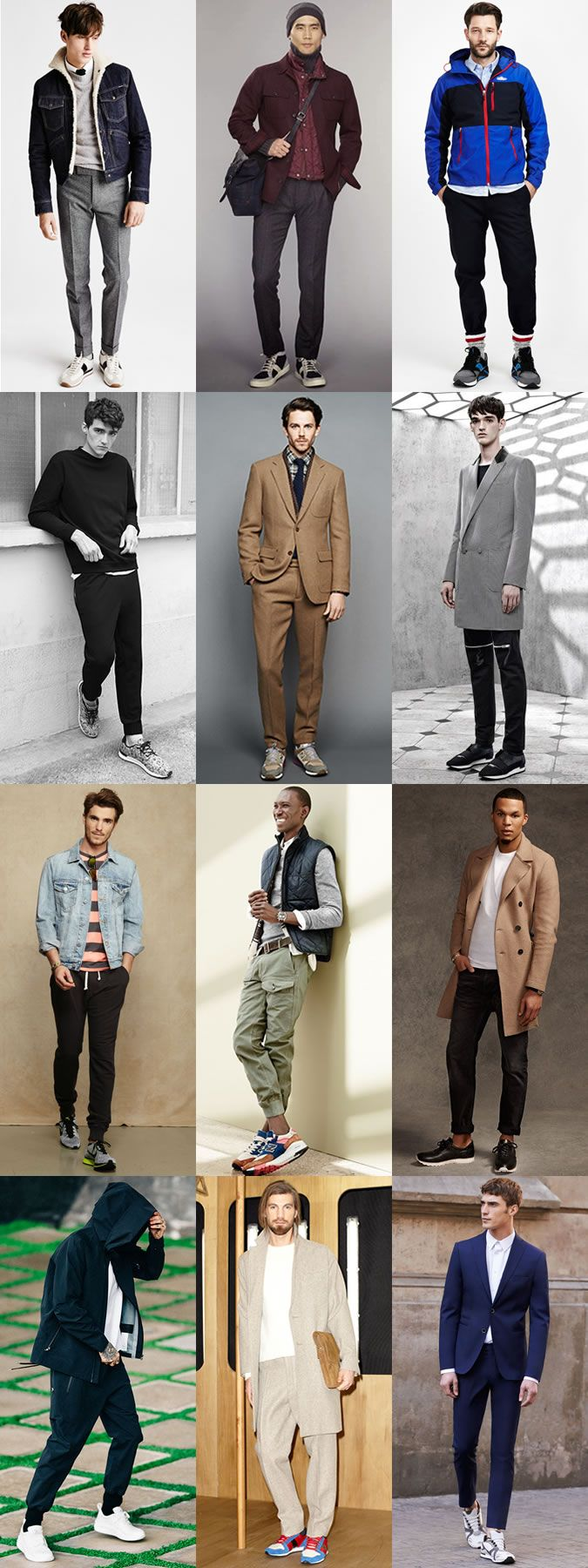 Men's Running Trainer Outfit Inspiration Lookbook