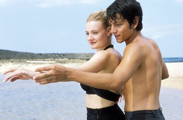 Pin for Later: The Hottest Shirtless Guys in Movies Diego Luna, Dirty Dancing: Havana Nights Everyone knows the best dance instructors are shirtless dance instructors.