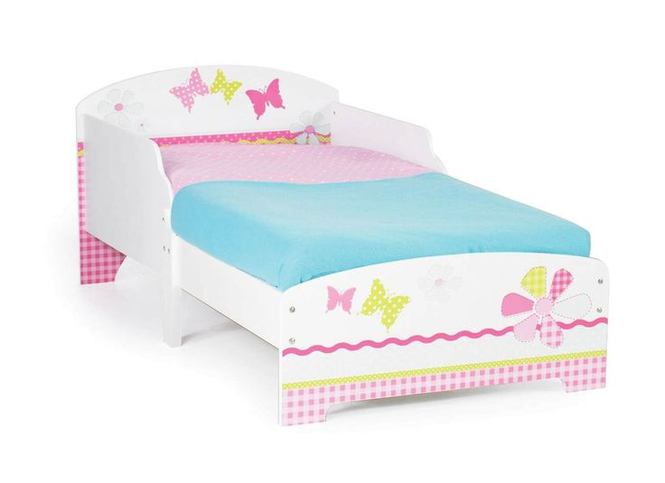 A Dream Toddler Bed With Protective Side Panels To Stop Night Time Tumbles