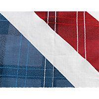 Check Union Jack Multicoloured Bedding Set - Kingsize.