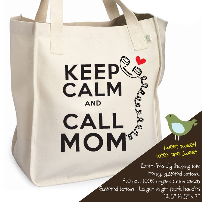 mom tote bag - funny mom tote good for grandma, sister birthday gifts too organic tote. $20.00, via Etsy.