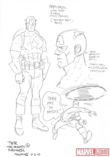 C2E2 Mondo Marvel: Thor: The Mighty Avenger by Langridge and Samnee
