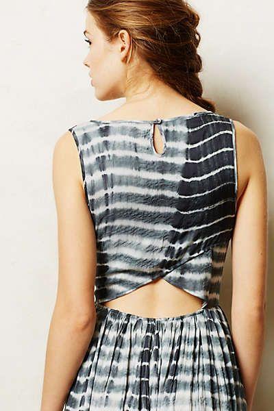 Anthropologie - Shibori Maxi Dress