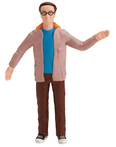 The Big Bang Theory Dr. Leonard Hofstadter 6-Inch Bendable Action Figure Toy @ niftywarehouse.com #NiftyWarehouse #Geek #Gifts #Collectibles #Entertainment #Merch