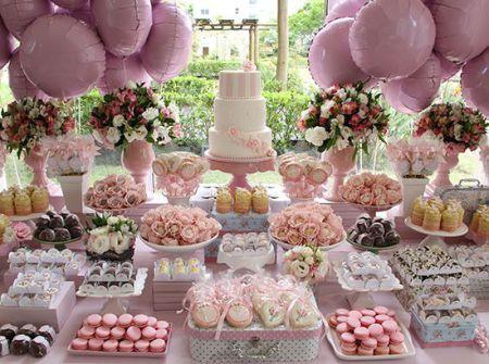 12 melhores imagens sobre decora o ch de mulheres no pinterest mesas recep es e bola de flores - Muebles bebe sevilla ...