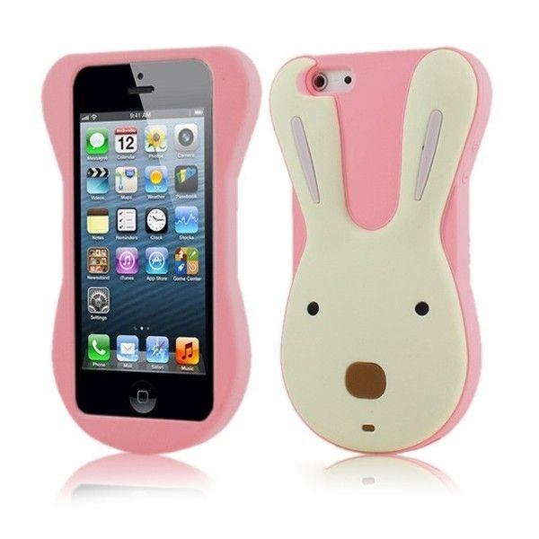 Cute & Lovely Rabbit Pattern Back Case Cover for iPhone 4/4S/5