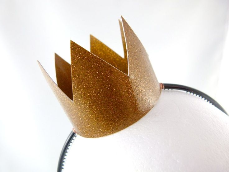 crown for paper bag princess costume