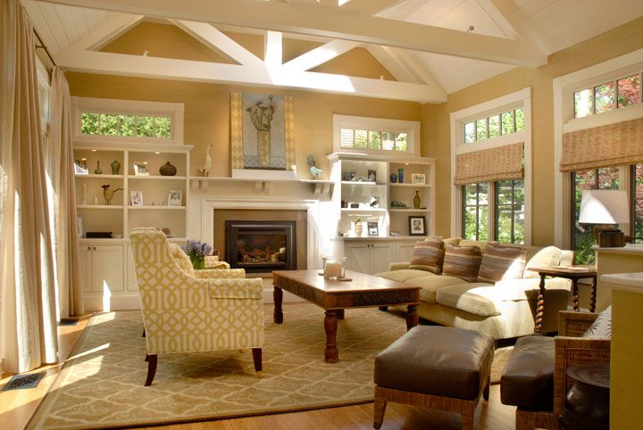 Family room additions ornamental design shelves great Great room additions