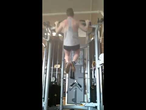 Our PT Benn Dyson at Genesis Mentone demonstrating - Pull ups - bodyweight. http://genesistrainer.com.au/bdyson