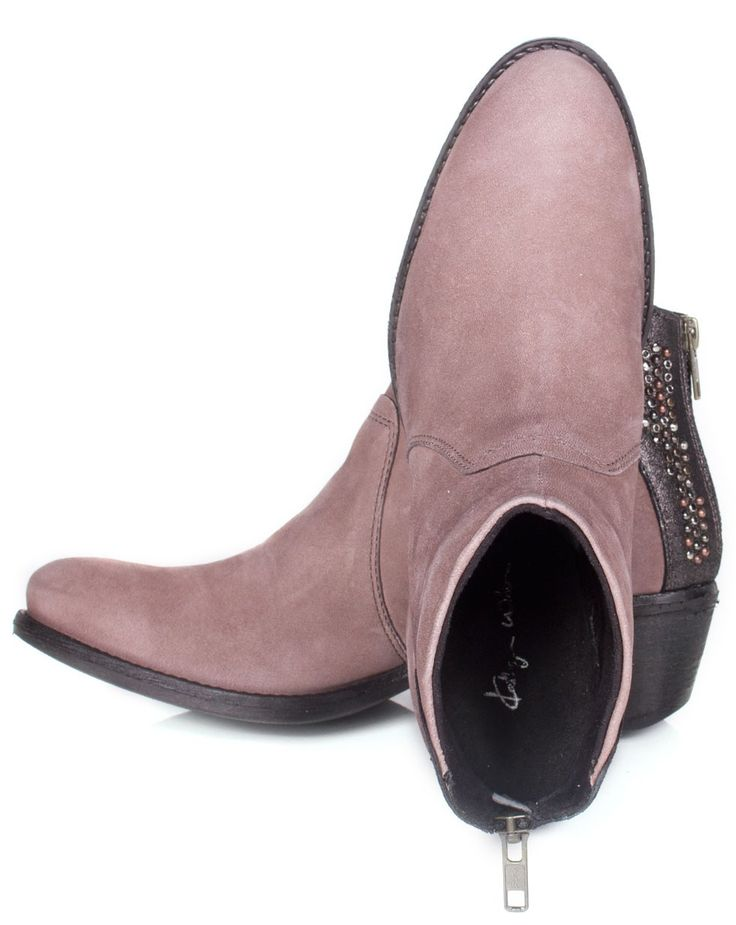 Alpe Boot in Taupe - Shoes - Accessories
