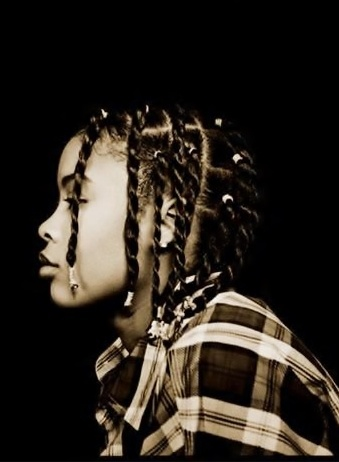 "Da Brat (born Shawntae Harris), rapper. She is the 1st female rapper to have a platinum-selling album. She got her name b/c she is ""a spoiled only child"". Her hits include Funkdafied & Give It 2 You, and she appeared on Mariah Carey's remix hits, Always Be My Baby, Lil' Kim's remix hit Ladies' Night (Not Tonight), Missy Elliott's Sock It 2 Me, & Destiny's Child's remix Jumpin', Jumpin'. She did 3-year bid for hitting a woman with a rum bottle. She is the younger half-sister of actress…"