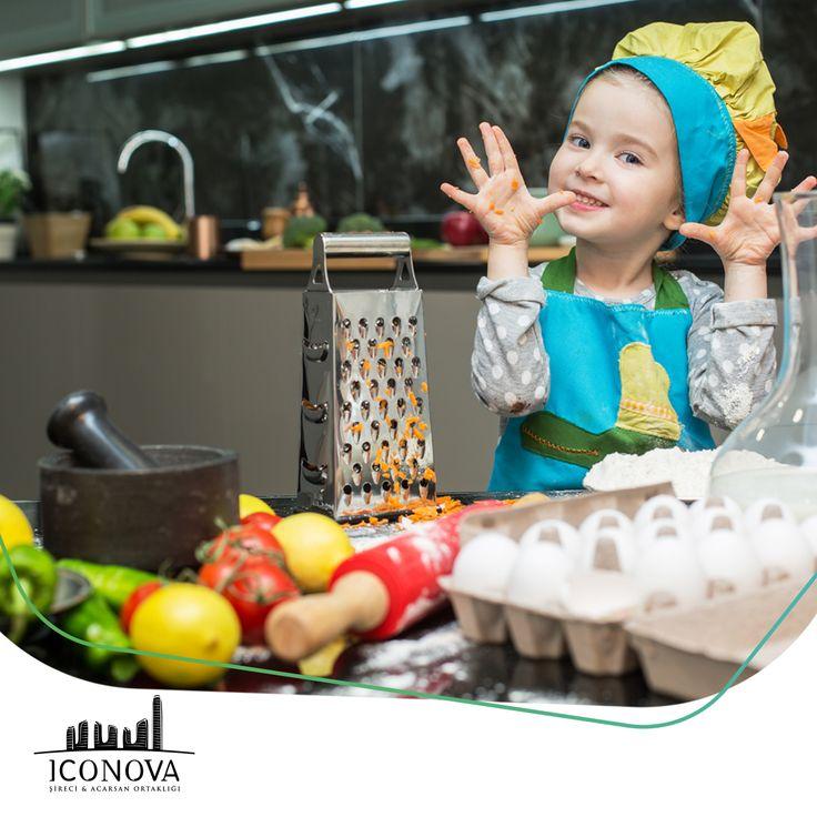Çocuklarınızın hayal gücü ve yaratıcılıkları ICONOVA mutfağında eğlenceli hale geliyor. İyisi mi, siz ICONOVA'ya gelin ! #iconova #gaziantep #iconovamutfak #ebrardemirbilek #ebrarsef #iyisimisiziconavayagelin @ebrardemirbilekresmi