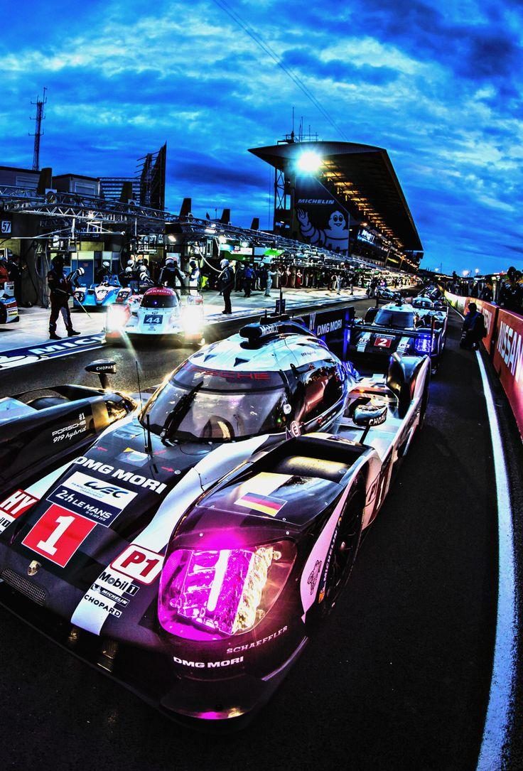 """f1championship: """"  Porsche l 24 Hours of Le Mans 2016 ( Photo Francois Flamand…"""