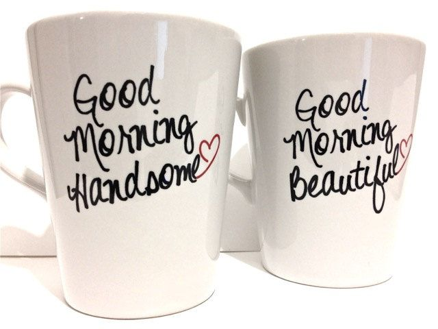 Start Valentine's Day right with matching coffee mugs. #CamilleStyles