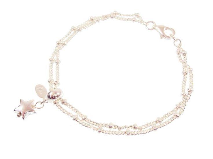 Joma jewellery celeste bracelet simply silver star £12.99  http://www.fizzy-flower.co.uk/Joma-Jewellery-celeste-bracelet-simply-silver-star.html