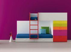 CAMAS TREN/LITERAS TREN.LITERAS FIJAS | Dormitorios juveniles| Habitaciones infantiles y mueble juvenil Madrid