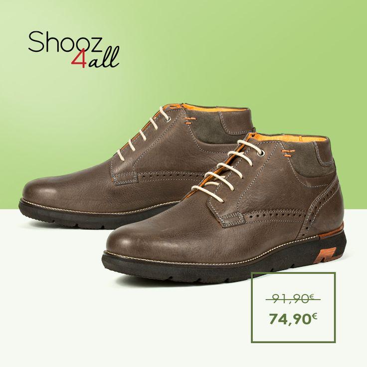 Σε καφέ απόχρωση ανδρικά μποτάκια από το Ιταλικό brand Zen Age. Από γνήσιο δέρμα άριστης ποιότητας, διαθέτουν χοντρή σόλα από εύκαμπτο και αντιολισθητικό υλικό. Κλασικά ανδρικά παπούτσια που συνδυάζονται εύκολα και φοριούνται όλες τις ώρες. http://www.shooz4all.com/el/andrika-papoutsia/kafe-mpotakia-apo-gnisio-derma-376948-detail #shooz4all #mpotakia #dermatina