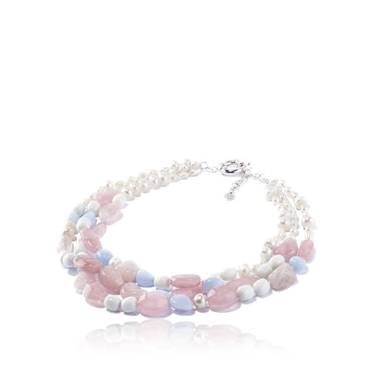 Powder Pink Necklace