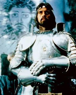 Nigel Terry as Arthur in 'Excalibur'