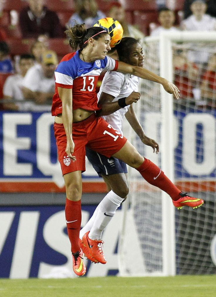 Alex Morgan vs. France, June 14, 2014. (Brian Blanco/Getty Images)