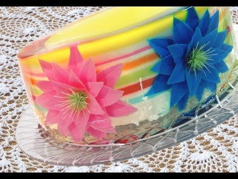 Step-by-step instructions on how to make Gelatin Art. Prepare the gelatin base to use in your gelatin desserts and learn how to use colors.