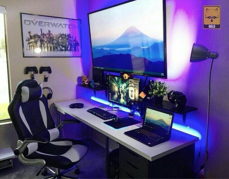24 Best Setup Of Video Game Room Ideas A Gamer S Guide Pojkrum Tonårsrum Datorer