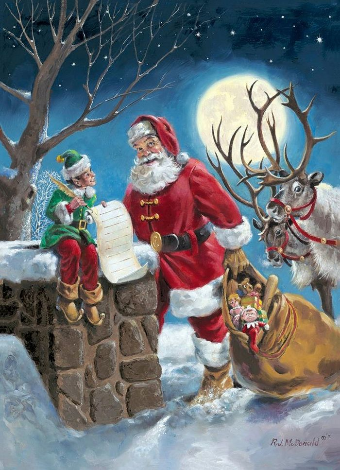 santa claus and christmas eve It is no question that santa clause gets the job done before christmas arrives,  but the north american aerospace defense command (norad).