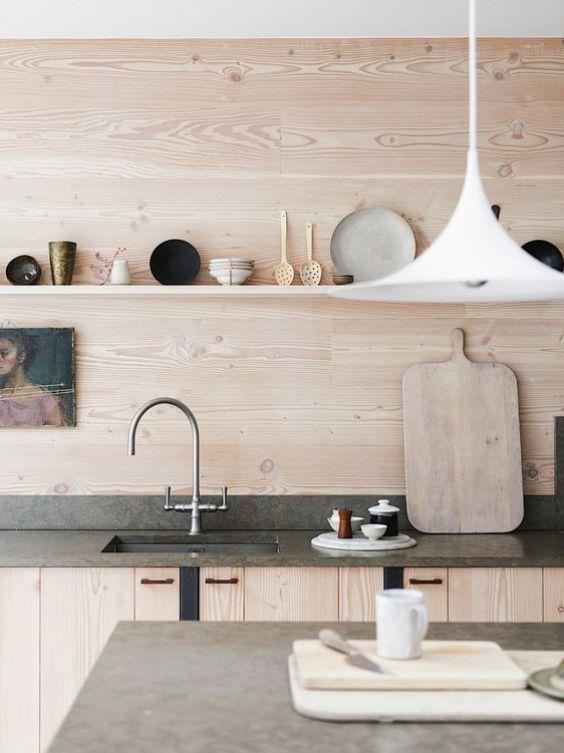 Cuisine en contreplaqué // Hëllø Blogzine blog deco & lifestyle www.hello-hello.fr #contreplaque #plywood
