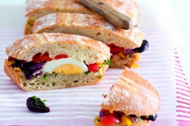 Lisovaný letní sendvič