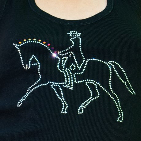 Dressage, equestrian fashion.