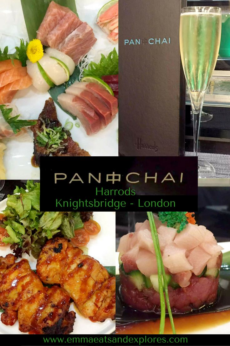 Pan Chai - Asian Fusion Restaurant in Harrods Food Hall, Knightsbridge, London. Delicious Japanese, Korean, Malaysian food & more with first class service!