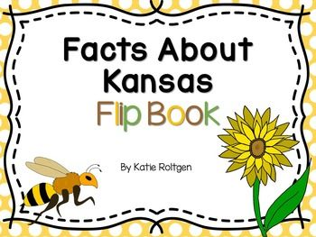 Facts About Kansas Flip Book - Kansas Day is coming up!  This fun and simple flip book is a great addition to your classroom Kansas Day festivities!