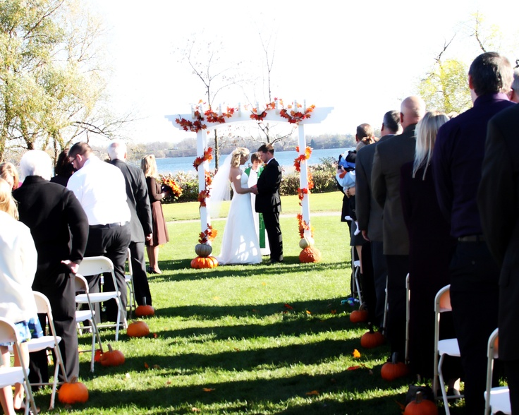 grant of tie the knot wedding ceremonies will be at arrowwood on august 29 2014